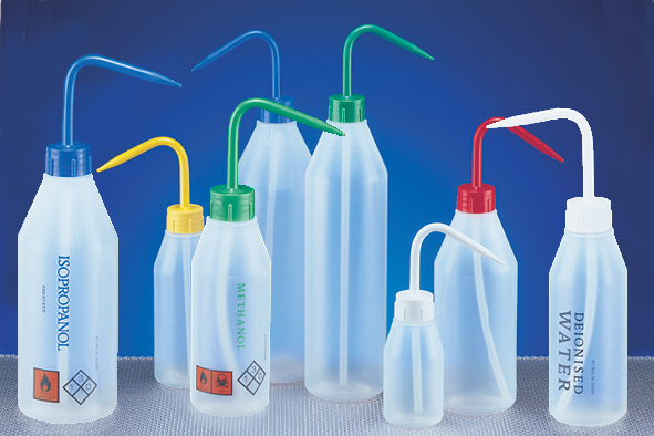 More info on Sloping Shoulder Wash Bottles