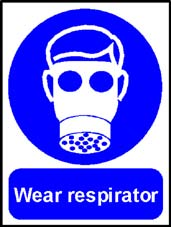 More info on 'Wear Respirator' - Safety Sign