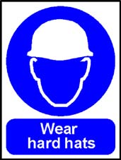 More info on 'Wear Hard Hats' - Safety Sign